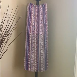 Dresses & Skirts - Bohemian small skirt with midi lining under